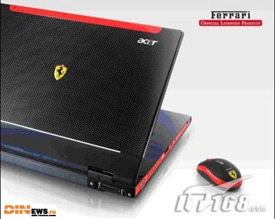 Новый ноутбук Ferrari от Acer