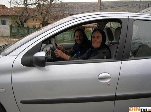 Бабки за рулем