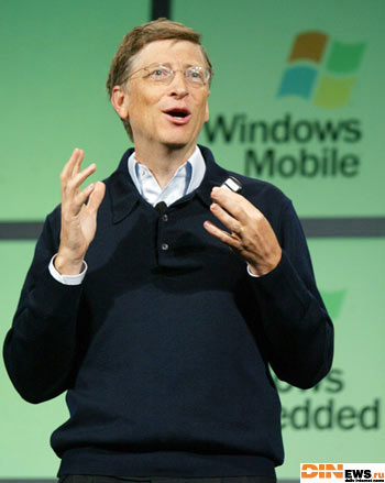 Билл Гейтс анонсировал выход Windows Mobile (TM) 5.0