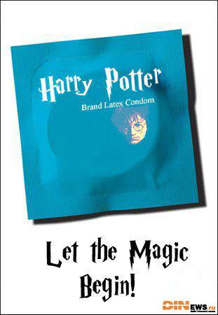 Harry Potter Condom - Let the Magic Begin!