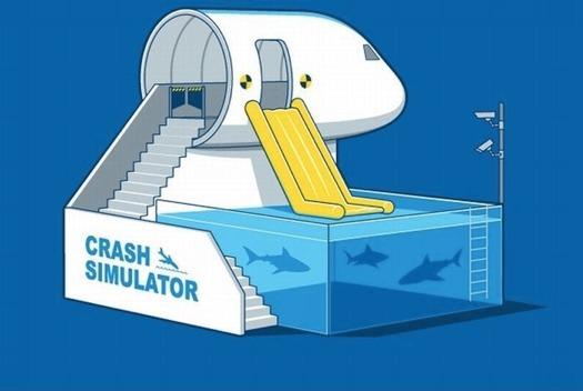 Crash simulator