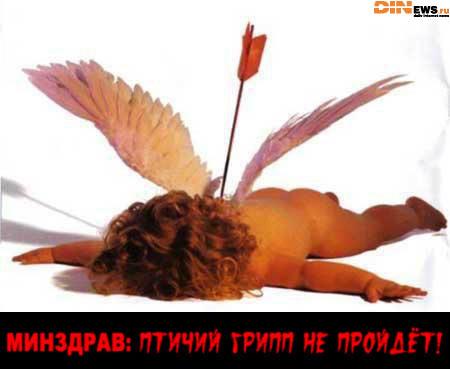 Минздрав: Птичий грипп не пройдет! :)