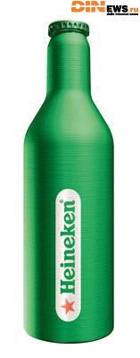 Heineken везет в Россию уникальную упаковку для пива. Дизайн характерен для вина, но только не для пива.