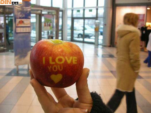 I love you на тыблоке! :)