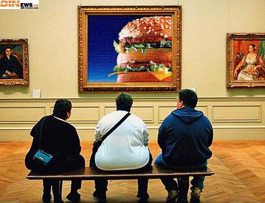 Любители живописи...