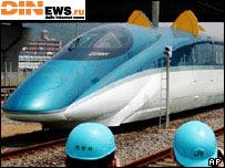 В Японии создали поезд с ушами