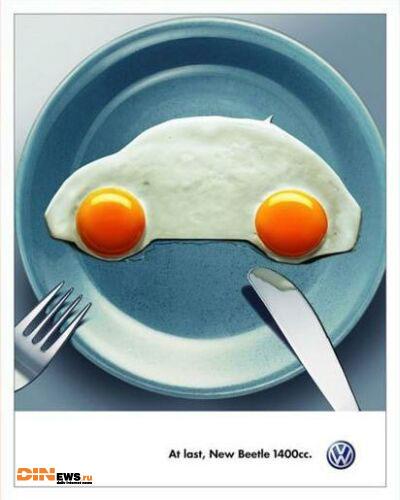 Оригинальная реклама New Beetle...