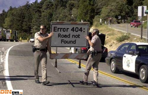 Error 404: Road not Found