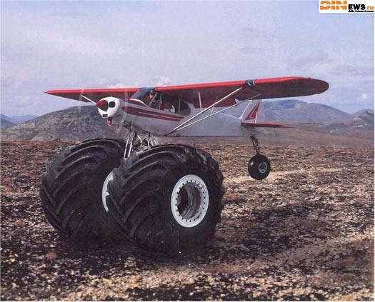 Самолет c полным приводом... резина зимняя...
