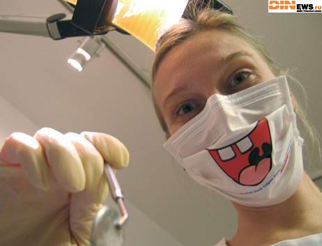 Веселый стоматолог!