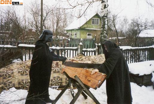 Темная сторона Силы и дрова! :)