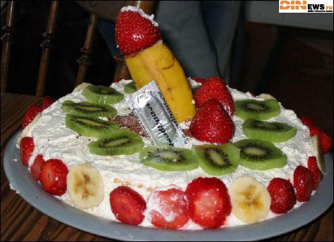 Хаппи бёздей ту ю! :) О как! Вот это тортик!