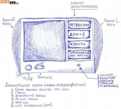 Новое поколение российских телефизоров...