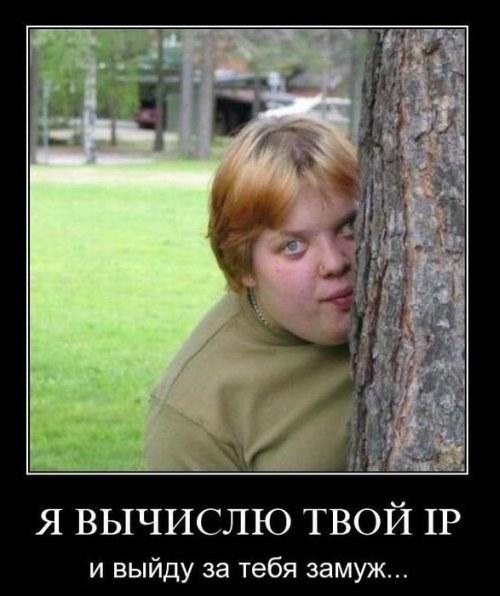 Я вычисляю твой IP!